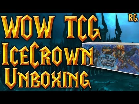 Unboxing Sourge War Icecrown Epic Box – MOUNT DROP! – World of Warcraft TCG