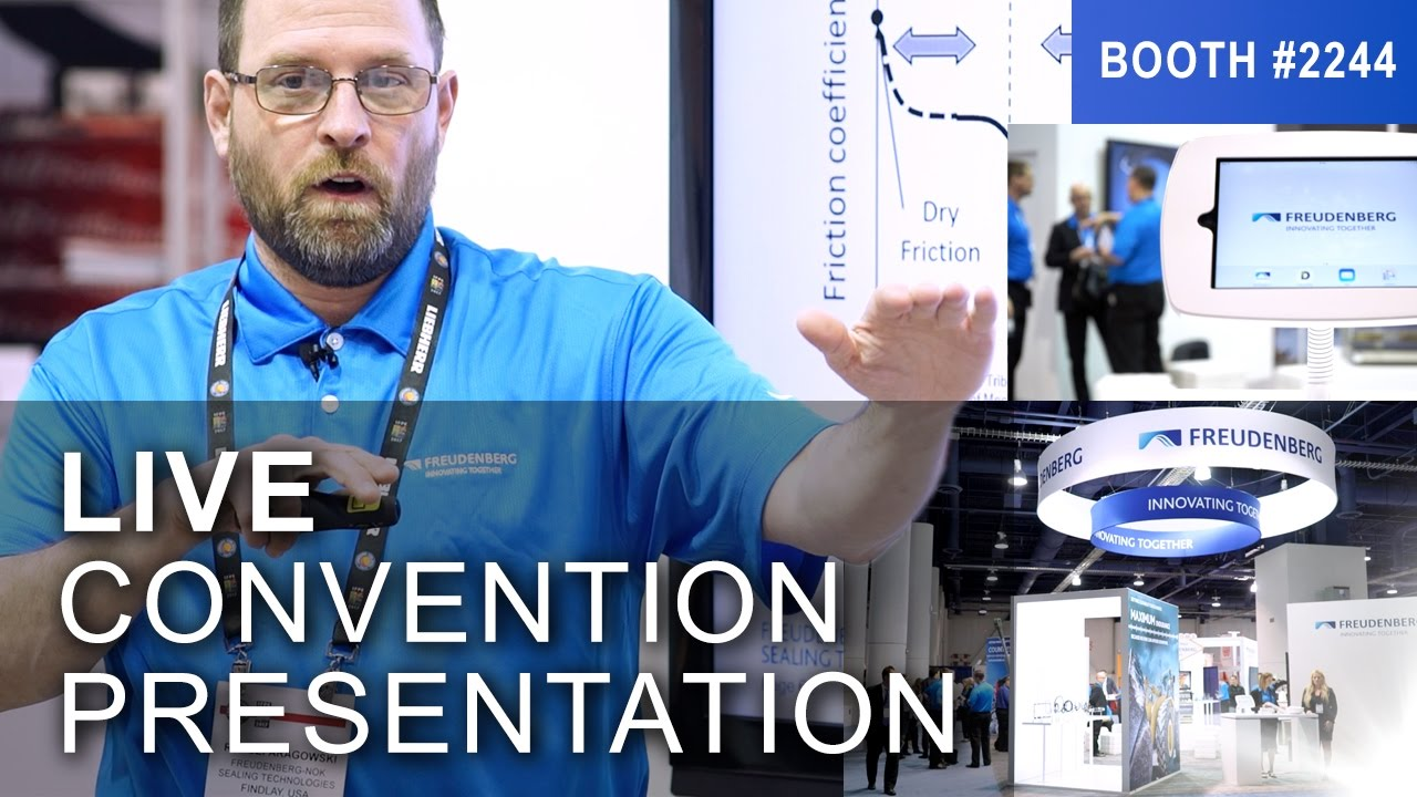 LIVE Convention Booth Presentation