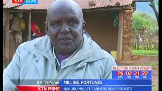 Nakuru farmer reaps big after investing in millet farming