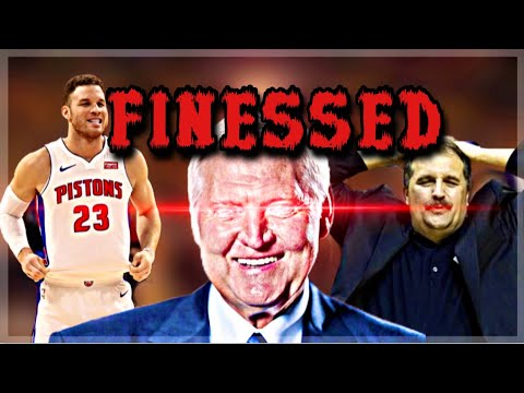 The FINESSE of the YEAR? The Detroit Pistons..😔