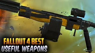 Fallout 4 Rare Weapons - Most Useful Weapons in The Game - Kneecapper Weapons (Fallout 4)