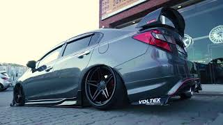 Honda Civic FB7 I arceo CONCAVE wheels