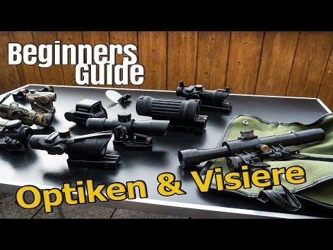 Airsoft Beginners Guide - Optiken, Visiere, Zielvorrichtungen GsPAirsoft [4k]