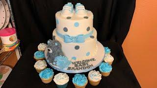 BABY SHOWER CAKE IT'S A BOY (pastel De Baby Shower Para Niño)