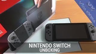 Aquí tienes nuestro unboxing de la Nintendo Switch