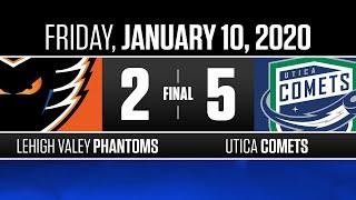 Phantoms vs. Comets   Jan. 10, 2020