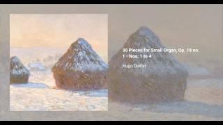 30 Pieces for Small Organ, Op. 18 no. 1