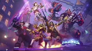 Heroes of the Storm : Ana Quick Match Gameplay
