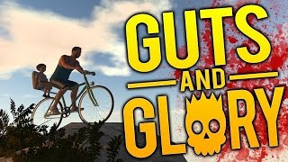Guts and Glory Gameplay - Father of the Year - All Levels Completed! - Guts and Glory Funny Moments