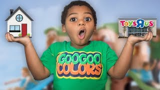 GOO GOO GAGA TURN HOUSE INTO TOYS R US! Learn How To Spell Toy