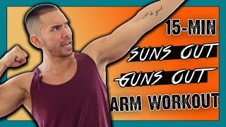 15 Minute Toned Arms Workout :: At Home Upper Body Workout for Lean Arms & Toned Shoulders by Mike Donavanik - MikeDFitness