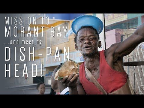 Pepperpot Morant Bay Mission….and meeting Dishpan-head man?!