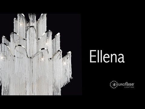 Video for Ellena Nickel Two-Light 10-Inch Wide Wall Sconce with Clear Crystal