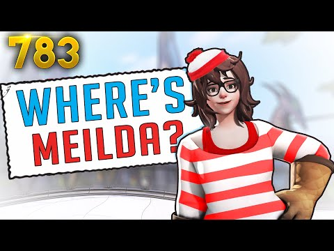 MEI Becomes Waldo..?! | Overwatch Daily Moments Ep.783 (Funny and Random Moments)