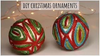 Homemade Christmas Ornaments   DIY Christmas Decoration Ideas   Glitter Foam Crafts