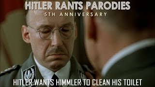 Hitler wants Himmler to clean his toilet