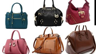 Pure Leather Handbags Crossbody Bags Tote Bags For Office Ladies