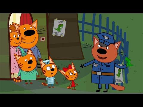 Три кота   Потерянный динозавр   Новая Серия 121   Мультфильмы для детей