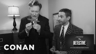 Conan & Jordan Schlansky Escape The Room  - CONAN on TBS