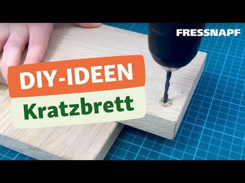 Do it yourself: Kratzbrett - Bastelidee
