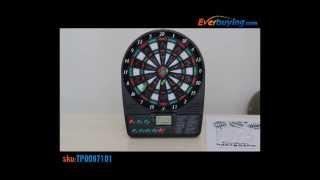 "Дартс электронный STATS  ELECTRONIC DARTBOARD LCD от компании Интернет-магазин ""Timatoma"" - видео"