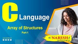 Array of Structures in C Part 1 | C Language Tutorial | Mr. Srinivas