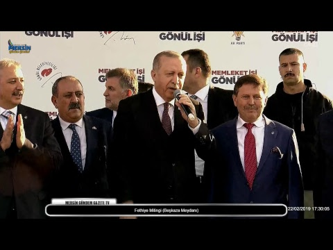 Cumhurbaşkanı Recep Tayyip ERDOĞAN Fethiye Mitingi (Beşkaza Meydanı)