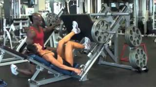 Calgary Fitness Tutorials: Single Leg Press