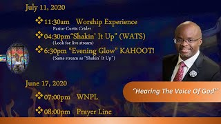Worship Experience  [JULY 11, 2020]