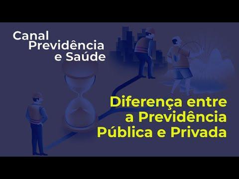 iferença entre a Previdência Pública e Privada - José Ricardo Sasseron