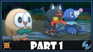 Rowlet  - (Pokémon) - Pokemon Sun and Moon Part 1 - Rowlet, Litten or Popplio!