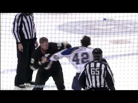 Corey Perry vs. David Backes