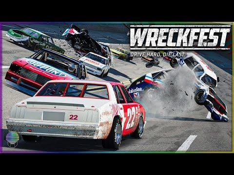 TALLADEGA SUPER DESTRUCTION! [370+ MPH!] | Wreckfest