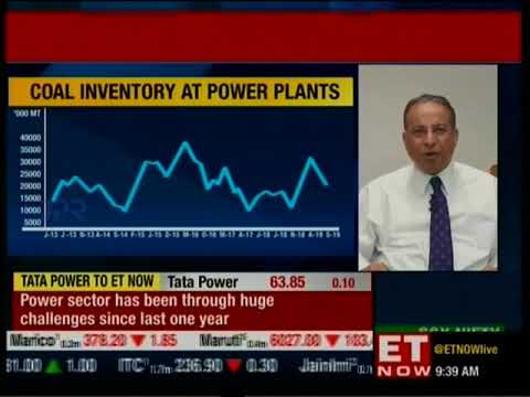 ET Now First Trades with Mr Praveer Sinha - MD & CEO, Tata Power