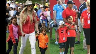 Remember Tiger Woods Daughter & Son [Sam Alexis Woods & Charlie Axel Woods] Look What's Doing 2017
