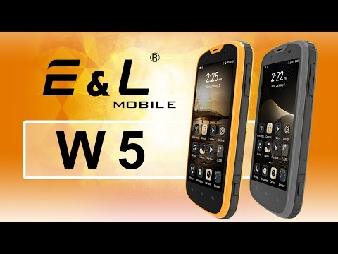 E&L Proofings W5 IP68 Waterproof Dustproof GSM Rugged 4G Smartphone Android 6.0 Unlocked Outdoor Cellphones (Yellow)