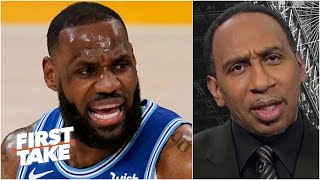 'If LeBron James says he's OK, he's OK!' - Stephen A. | First Take
