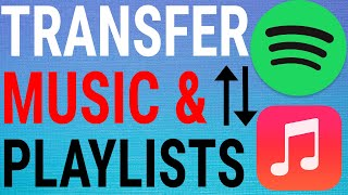 How To Transfer Spotify Playlists To Apple Music! (iPhone & iPad)