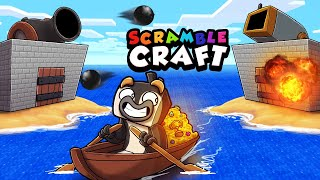 Deep Ocean TREASURE = Legendary ARMOR + Weapons! (Scramble Craft)