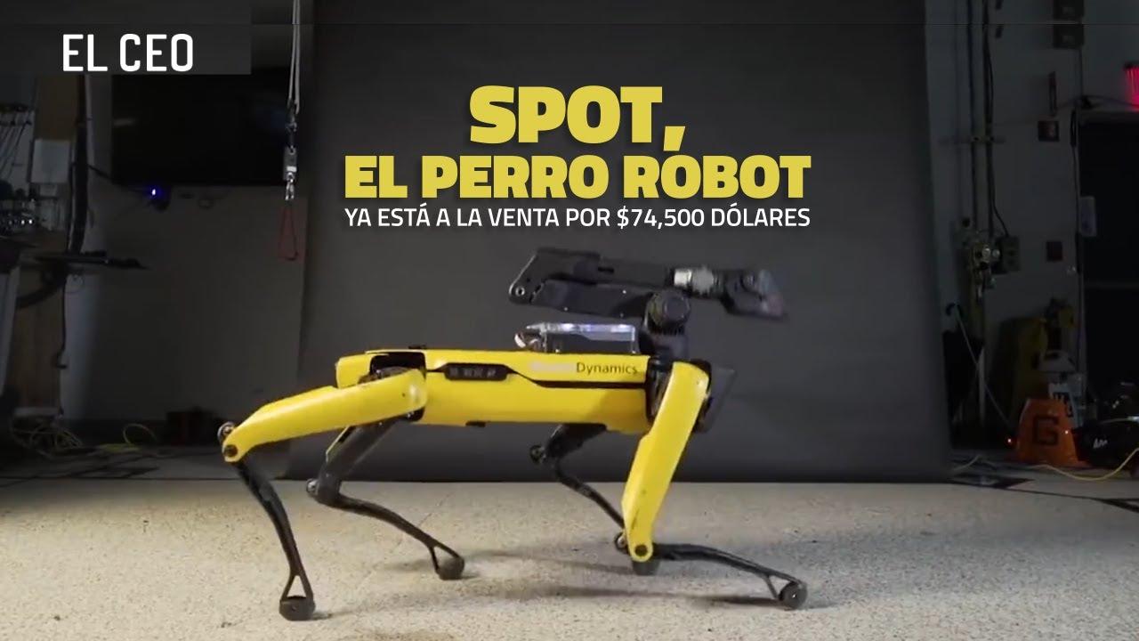 Spot, el perro robot que cuesta un millón de pesos