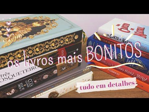 LIVROS MAIS BONITOS DA MINHA ESTANTE (PARTE 1) #VEDA 7 | Ana Carolina Wagner