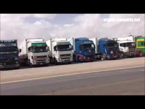 75 semi-remorques envoyés par l'Arabie saoudite pour les réfugiés syriens