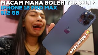 AKU TERBELI IPHONE 12 PRO MAX ?! | UNBOXING VIDEO 😱