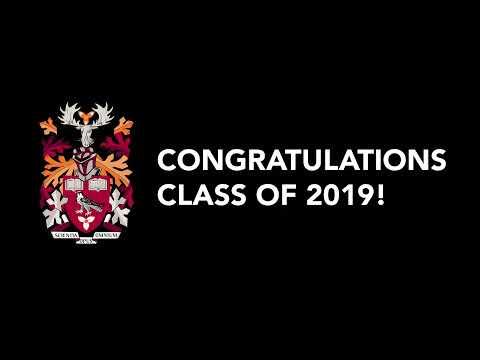 Convocation 2019 - McKeil School of Business, Media & Entertainment