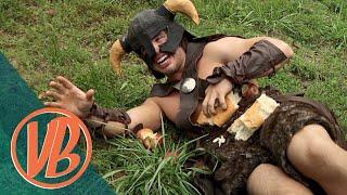 Skyrim IRL: Dovahkiin vs. the Bandit Marauder (VideoBakery)