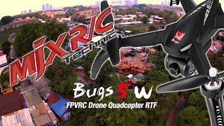 MJX B5W stock camera sample footage