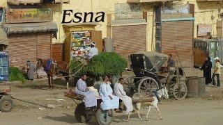 preview picture of video 'Ägypten, Blick auf Esna'
