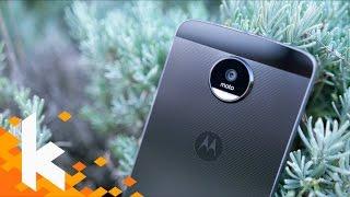 Bestes modulares Smartphone? Moto Z Review!