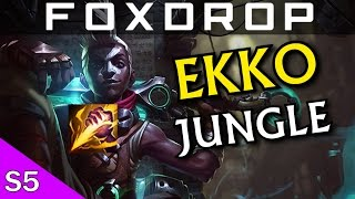League of Legends - Ekko JUNGLE - Full Gameplay [HD] [Ger