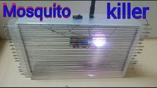 How to make a mosquito killing machine at home